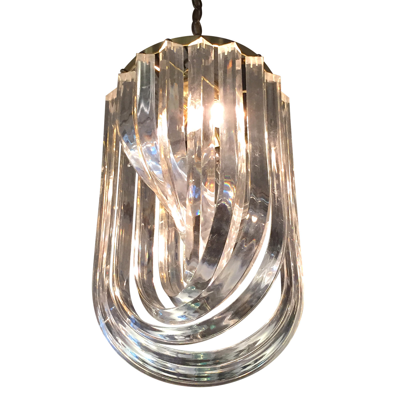 ribbon chandeliers century furniture id mid sale chandelier large lucite pendant at for lights f modern l img lighting