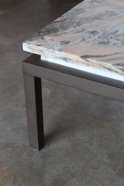 Mrspkandoz Mid Century Modern Marble Swirl Top With